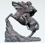 沖田景雲 大型彫刻ブロンズ 屋外モニュメント 高岡銅器 竹中銅器