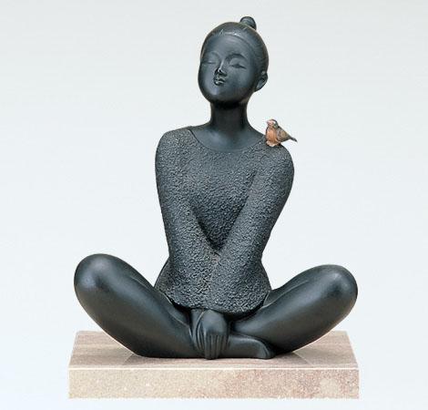 板保次 ブロンズ彫刻 高岡銅器 竹中銅器