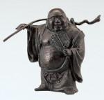 般若純一郎 開運 縁起物 七福神 和風置物 ブロンズ置物 高岡銅器 竹中銅器
