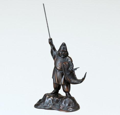 開運 縁起物 七福神 和風置物 ブロンズ置物 高岡銅器 竹中銅器