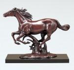 馬の置物 ブロンズ彫刻 ブロンズ置物 高岡銅器 竹中銅器