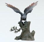 ブロンズ彫刻 ブロンズ置物 高岡銅器 竹中銅器
