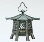 六角春日吊燈籠 神仏具 仏像 お寺 寺院 高岡銅器 竹中銅器