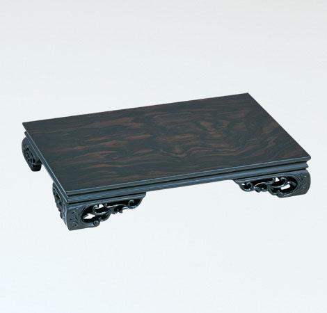 スカシ平台 インテリア彫刻品 置物台 飾り台 高岡銅器 竹中銅器