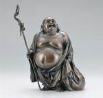 海野勝民 開運 縁起物 七福神 和風置物 ブロンズ置物 高岡銅器 竹中銅器