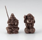 津田永寿 開運 縁起物 七福神 和風置物 ブロンズ置物 高岡銅器 竹中銅器