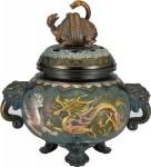 四神獣香炉 銅製香炉 高岡銅器 竹中銅器 日本製