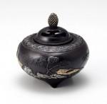 山水香炉 銅製香炉 高岡銅器 竹中銅器 日本製