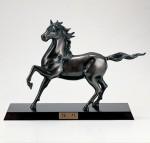 渡辺環水 馬の置物 ブロンズ彫刻 ブロンズ置物 高岡銅器 竹中銅器