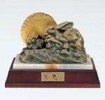 北村西望 十二支 開運 銅製 置物 干支 文化勲章受章 高岡銅器 竹中銅器