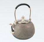銀瓶 美術工芸品 茶道具 茶器 高岡銅器 竹中銅器