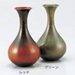 銅製花瓶 花器 ブロンズ製花瓶 伝統工芸 高岡銅器 竹中銅器