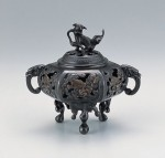 香炉 和室 インテリア 高岡銅器 竹中銅器