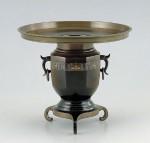 薄端 華道 華道具 花器 高岡銅器 竹中銅器