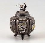 香炉 高岡伝統工芸 工芸品 高岡銅器 竹中銅器