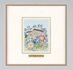 パネル アルミ彫刻額 竹中銅器オリジナル作品 池田満寿夫 高岡銅器 竹中銅器