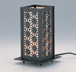 ランタン アルミ製 日本庭園 インテリア 燈籠 高岡銅器 竹中銅器