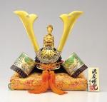 源義経 兜 端午の節句 誕生祝い 新築祝 出世兜 記念品 高岡銅器 竹中銅器