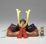 源氏兜 端午の節句 誕生祝い 新築祝 出世兜 記念品 高岡銅器 竹中銅器