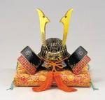 出世兜 端午の節句 誕生祝い 新築祝 出世兜 記念品 高岡銅器 竹中銅器