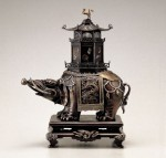象塔香炉 高岡銅器 銅製
